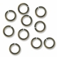 Antiqued Brass 6mm Open Jump Rings 20GA (50PK)