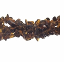 Smokey Quartz (IM) Bead Chips 36 Inch Strand