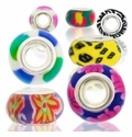 MIOVI™ Large Hole Polymer Clay Beads