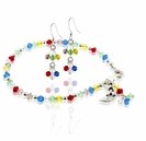 Celestial Rainbow Crystal Bracelet and Earring Design Kit
