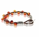 Swarovski  On Fire Leather Bracelet Kit
