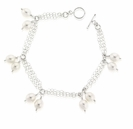 Angelique Pearl Sterling Silver Bracelet Design Kit