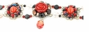 TOHO Bracelet Kit Coral Rose