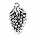 Antiqued Silver 22mm Grapes Charms (10PK)