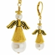 Golden Angel Earring Design Kit