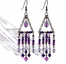 Swarovski Purple Haze Chandelier Earring Design Kit