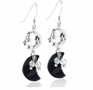 Swarovski Crescent Moon Earring Design Kit