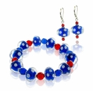 Red, White and Blue Jewelry Design Kit