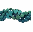 Mixed Style Blue/Green IM Turquoise Beads (4) 16 Inch Strands