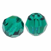 Emerald Swarovski 5000 5mm Crystal Beads (10PK)