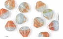 Czech Hurricane Glass Loose Sea Shells 9mm Rendezvous (25PK)