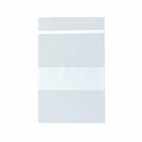 "Polybag; 2x3""  2 mil clear with white block (100PK)"