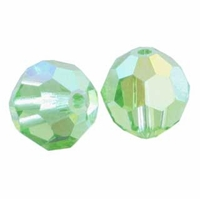 Peridot AB Swarovski 5000 6mm Crystal Beads (10PK)