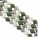 Multi Color 013 4mm South Sea Pearls 16-Inch Strand