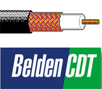 Belden 543945 - Solid Bare Copper RG59 Coax Cable For Surveillance and CCTV applications - 500 Ft