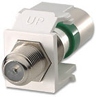 Leviton Quickport Compression F-Connector