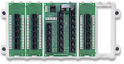 Leviton 47603-18P 18-Port Structured Media� Panel