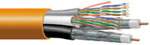 Commscope Ultrahome Home Networking Composite cable UH58360  2 Coax +  2 Cat5e 500 FT Riser Rated
