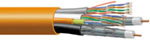 Commscope Ultrahome Home Networking Composite cable UH58380  2 Coax +  2 Cat5e + 1 2multimode Fiber 500 FT Riser Rated