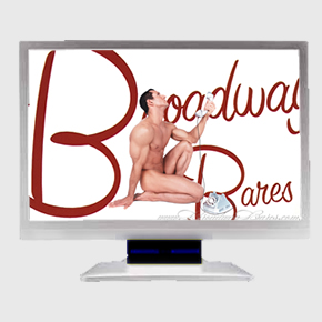 BROADWAY BARES IX: CALENDAR GIRL MICROSOFT WINDOWS� SCREEN SAVER
