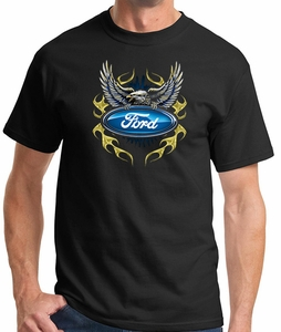 Ford T-shirt - Logo with Eagle Tee Shirt