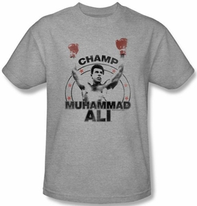 Muhammad Ali T-shirt Adult Number One Athletic Heather Tee Shirt