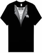 Tuxedo T-shirt - Tall Sizes