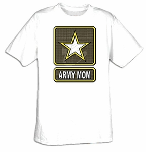 US Army Mom - Adult Military Tee