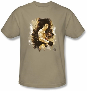 Bruce Lee Kids T-shirt Youth Intensity Sand