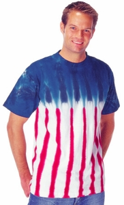 Tie Dye T-shirt - New Glory US Adult Tee