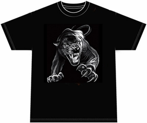 Black Panther T-shirt - Wildlife Adult Tee Shirt