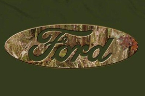 Ford Logo Shirt - Mens Camouflage Logo Tee