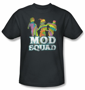 Mod Squad Shirt Run Groovy Charcoal T-Shirt