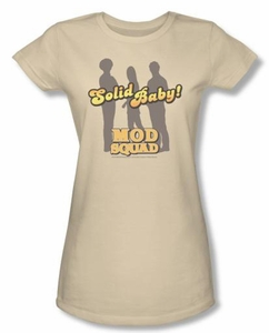 Mod Squad Juniors Shirt Solid Mod Cream T-Shirt