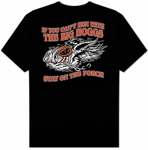 Biker T-shirt - Big Hoggs Adult Bike Tee