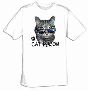 Cat T-shirt - Funny Adult Pet Tee Shirt