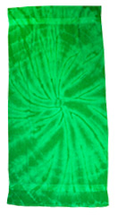 Tie Dye Spider Kelly Retro Vintage Groovy Beach Towel
