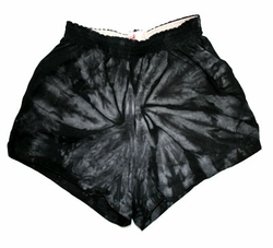 Tie Dye Kids Short Spider Black Youth Soffe Shorts