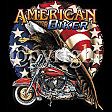Indian Motorcycle T-shirt - Motorcycle Flag Adult Tee
