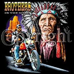Indian T-shirt - Brothers Motorcycle Tee