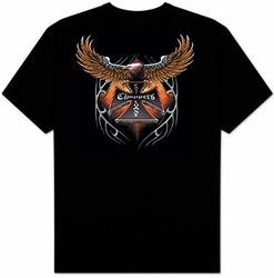 Chopper T-shirt - Chopper Eagle Adult Tee