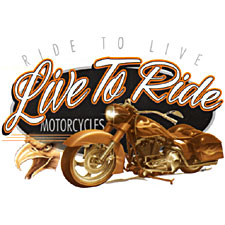 Live to Ride Ride to Live Biker T-shirt