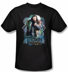The Hobbit Shirt Movie Unexpected Journey Thorin Oakenshield Adult Tee