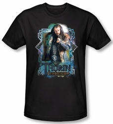 The Hobbit Shirt Movie Unexpected Journey Thorin Oakenshield Slim Fit