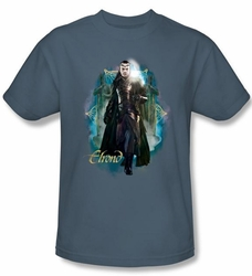 Hobbit Shirt Movie Unexpected Journey Loyalty Elrond Slate Adult Tee