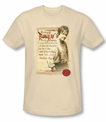 Hobbit Shirt Movie Unexpected Journey Loyalty Burglar Cream Adult Tee