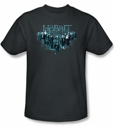 Hobbit Shirt Unexpected Journey Loyalty Thorin Charcoal Adult Tee