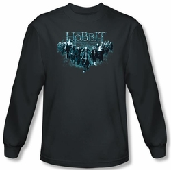 Hobbit Shirt Unexpected Journey Loyalty Thorin Charcoal Long Sleeve
