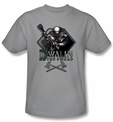 The Hobbit Kids Shirt Movie Unexpected Journey Dwalin Silver T-shirt