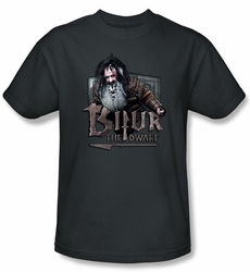 The Hobbit Kids Shirt Movie Unexpected Journey Bifur Charcoal T-shirt